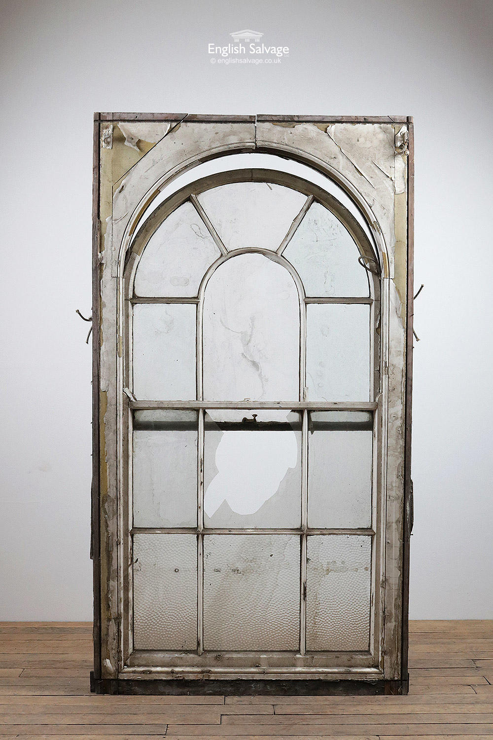 Old Arched Sash Window For Repair Restoration