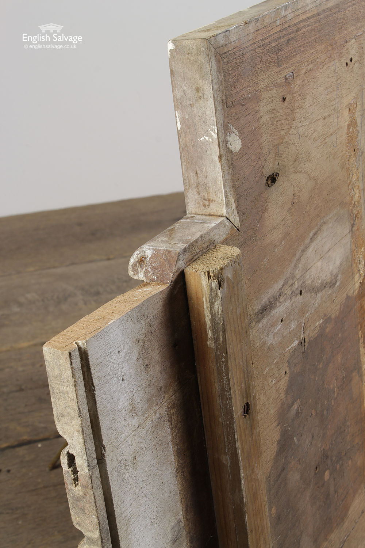 Old Elm Wooden Kitchen Draining Board