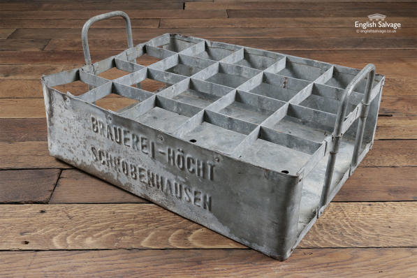 Old German Beer Crate / Bottle Holder