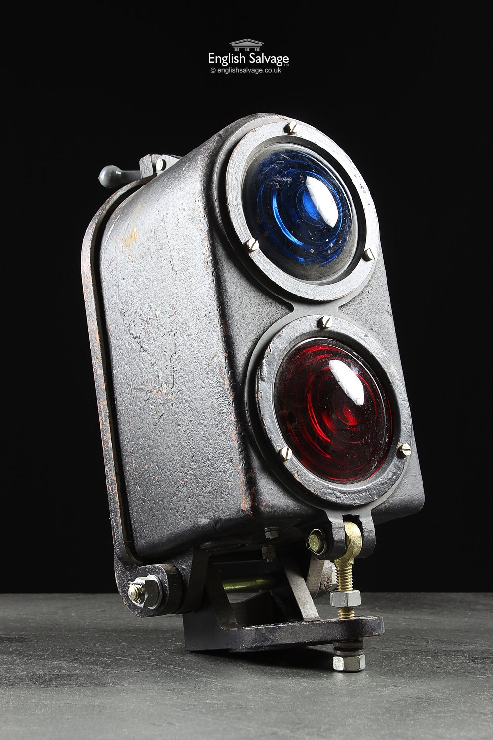 Old Railway Dual Colour Signal LightsLamps
