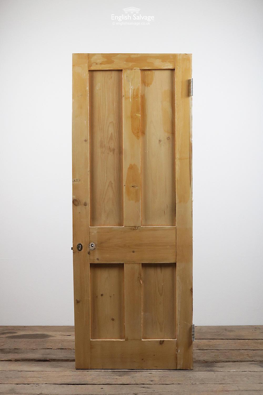 Old Victorian Four Panel Pine Door