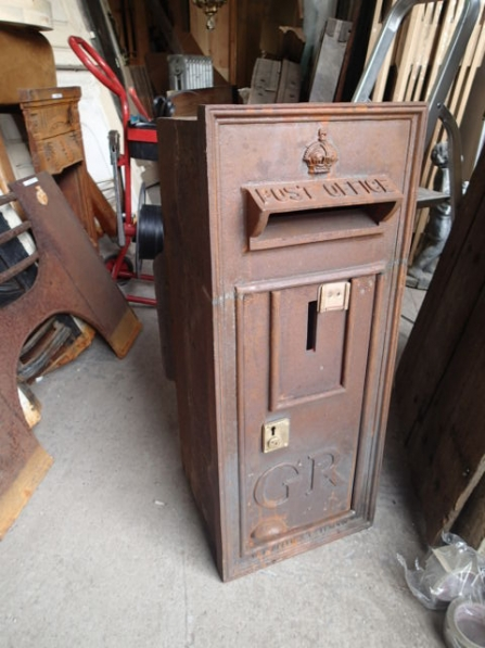 Original Wall Mounted GR Post Box