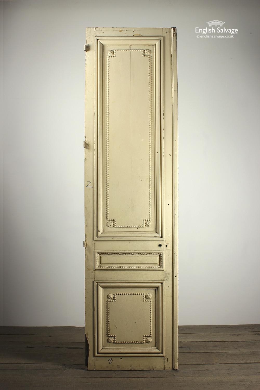 Ornate Single French Oak Door