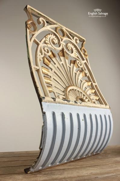 Ornate Victorian Cast Iron Balcony Railing