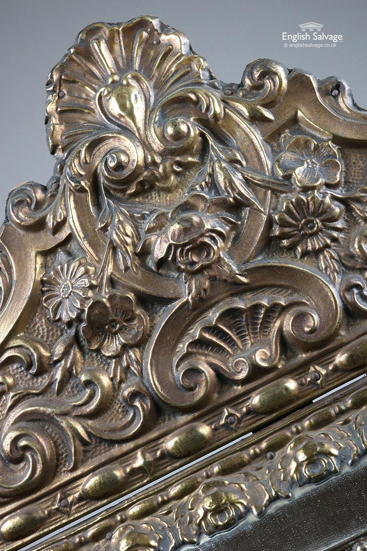 Pair Of Antique Parclose Mirrors