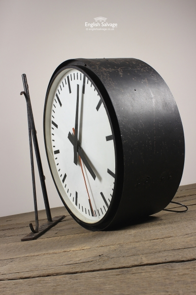 Period Illuminated Wall Mounted Station Clock