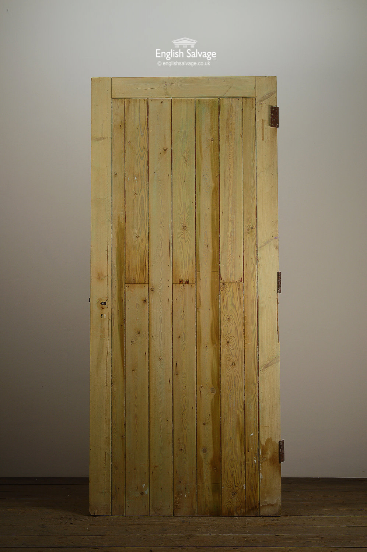 Pine Ledge And Brace Plank Door