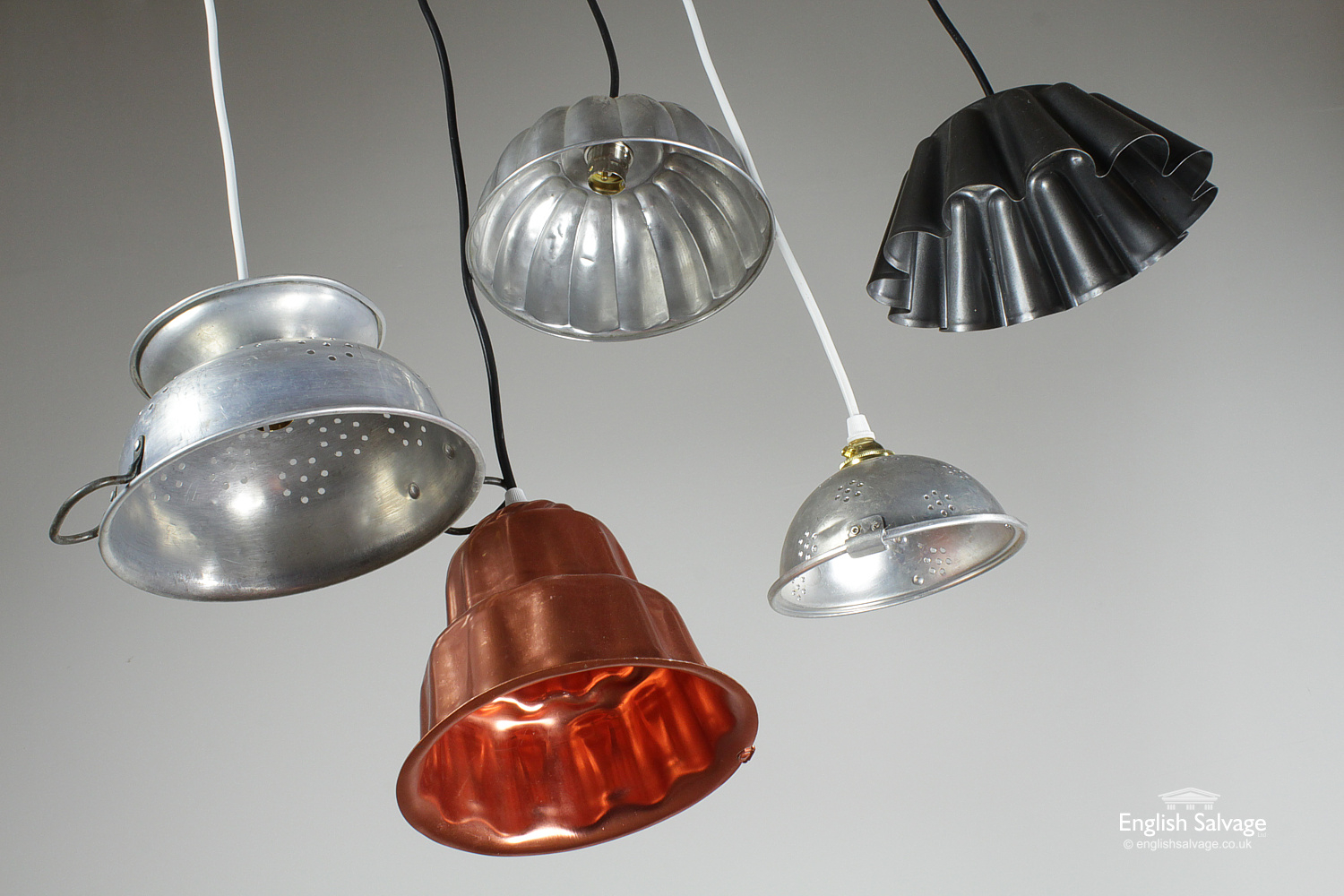 Quirky Vintage Kitchen Pendant Lights