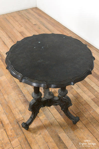 Rare decorative bronze centre table