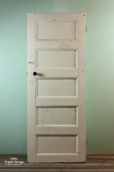 Phenomenal Reclaimed 1950S Horizontal 5 Panel Door Door Handles Collection Olytizonderlifede