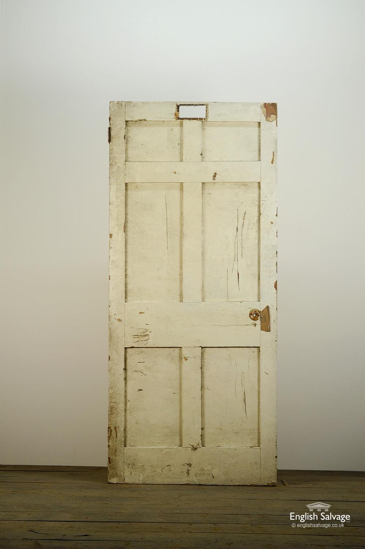 Reclaimed 6 Panel Pine Door