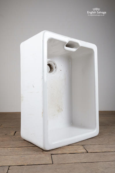 Reclaimed 60cm white Belfast sink