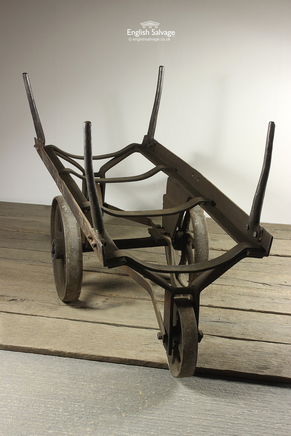 Reclaimed Antique Industrial Cart Trolley