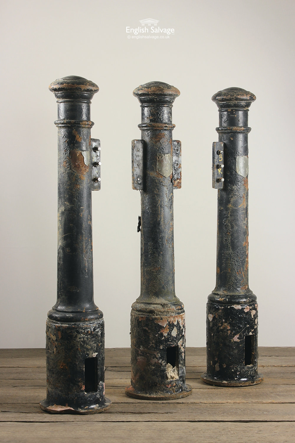 Reclaimed Cast Iron Street Bollards