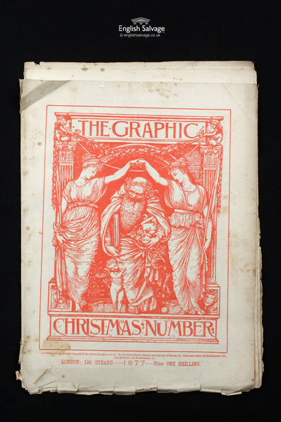 Reclaimed Christmas 1877 Graphic Magazine