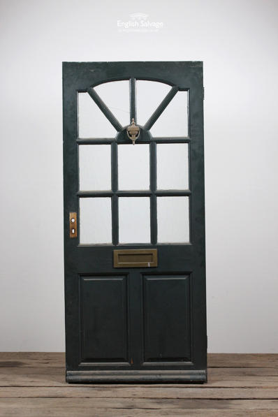 Reclaimed Half Glazed Pine Front Door
