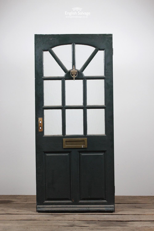 Reclaimed Half Glazed Pine Front Door