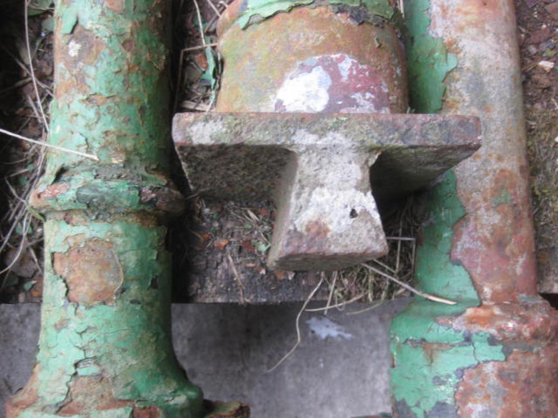 Reclaimed Large Cast Iron Columns