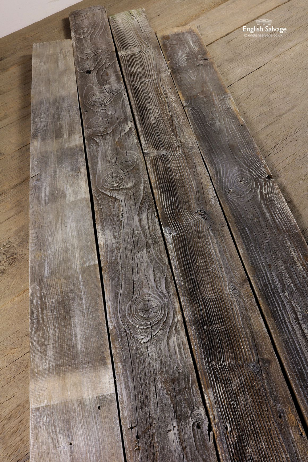 Reclaimed Lime Washed Barn Wood Cladding