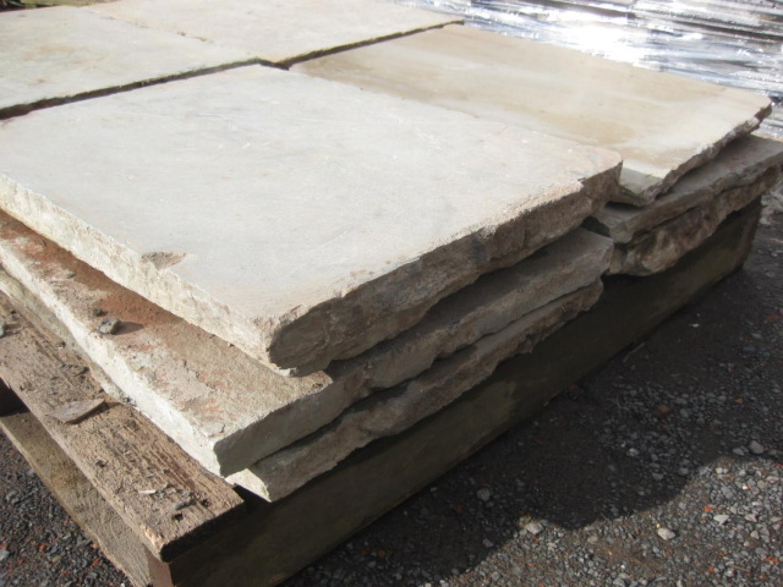 Reclaimed Limestone Flagstones