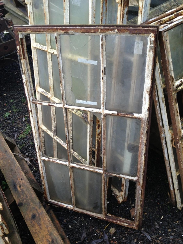 Reclaimed Metal Windows