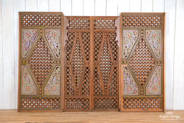 Reclaimed Moroccan screen / partitioning