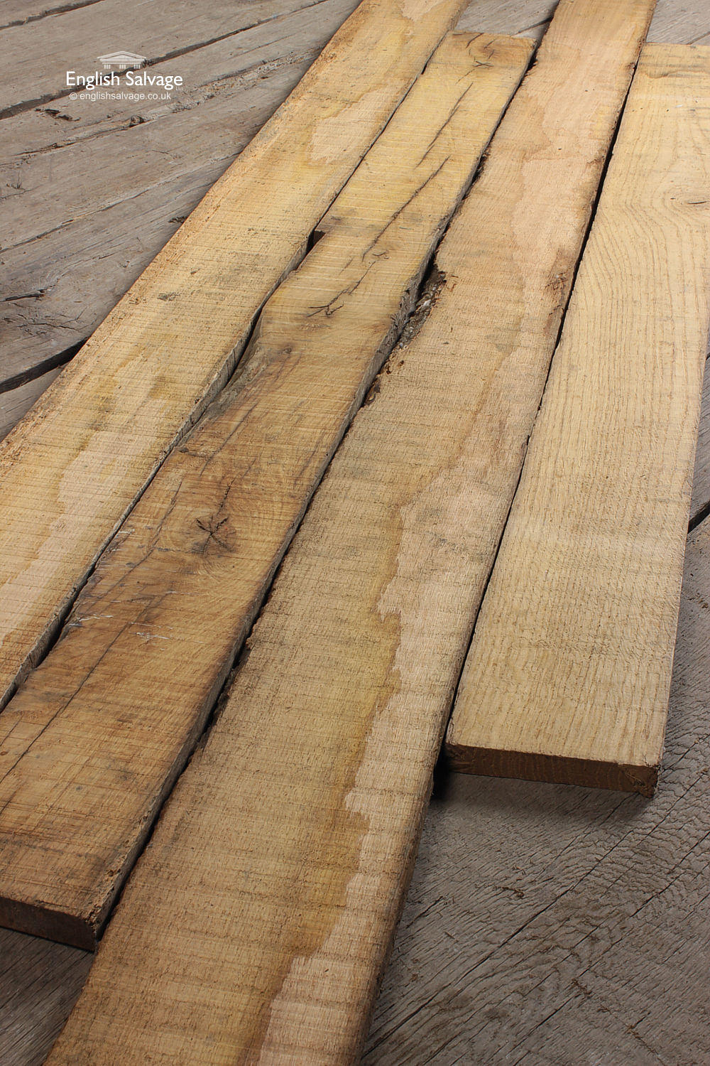 Reclaimed Oak Cladding Resawn From Old Beams