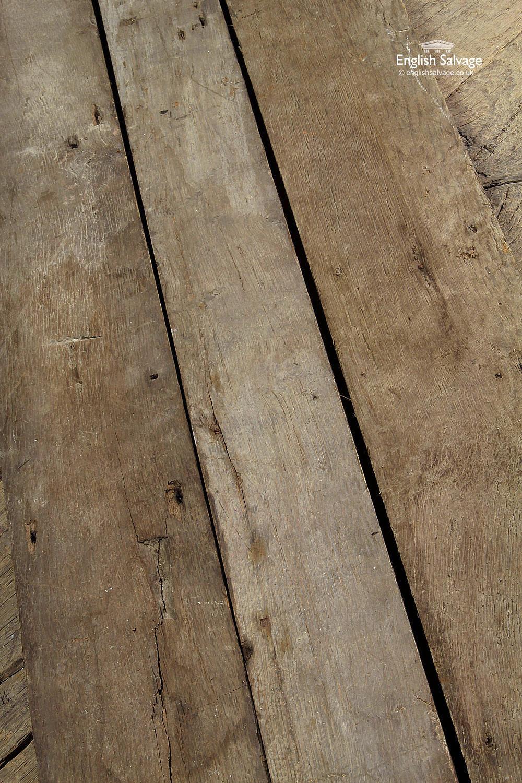 Reclaimed Oak Floorboard Planks