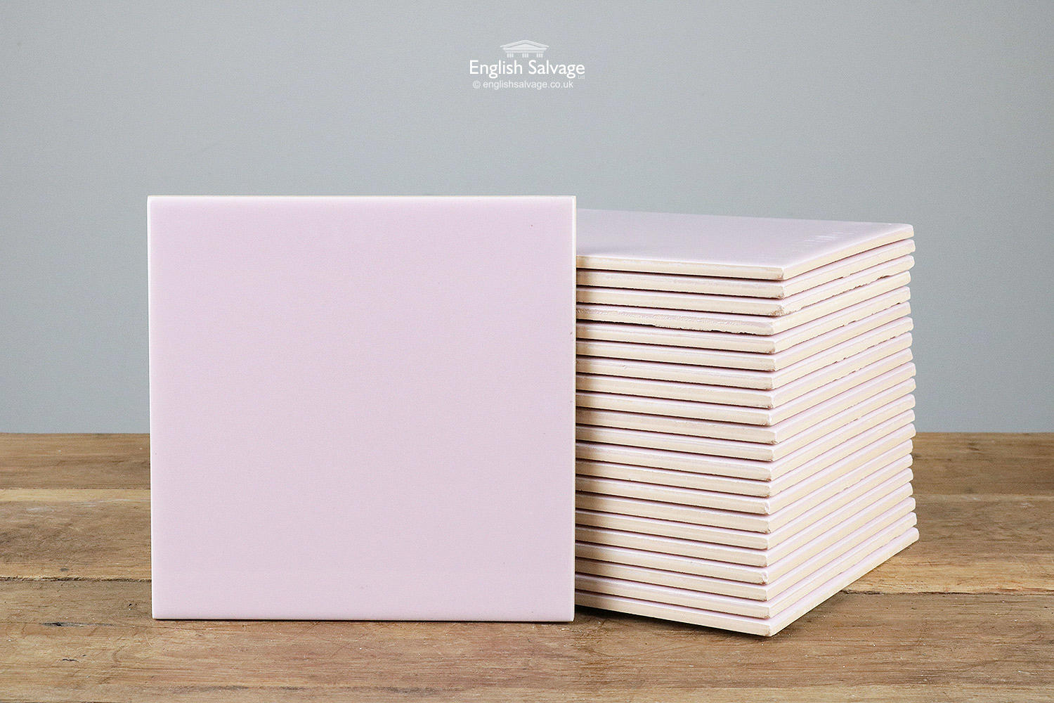Reclaimed Pale Pink 6 Inch Wall Tiles