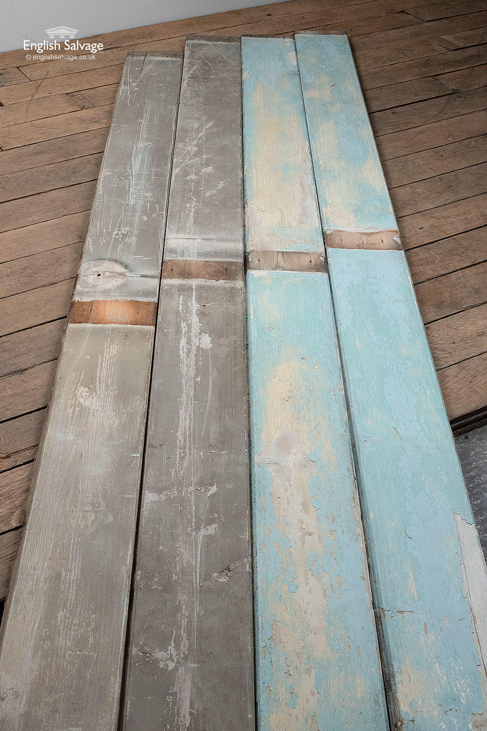 Reclaimed Pine Tongue And Groove Boards