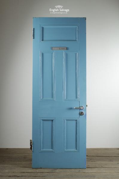 Reclaimed Pitch Pine Five Panel Interior Door
