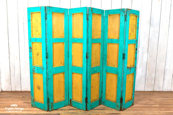 Reclaimed room divider / panelling