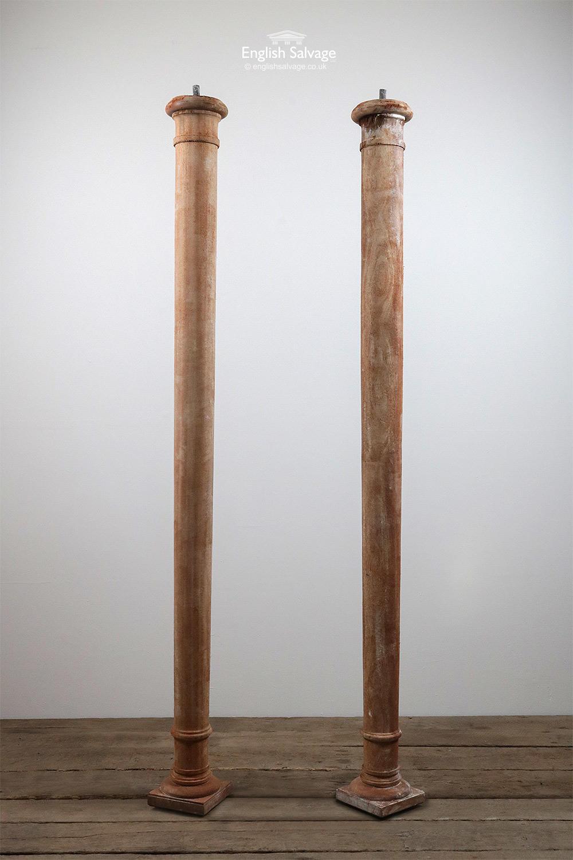 Reclaimed Simple Hardwood Pillars