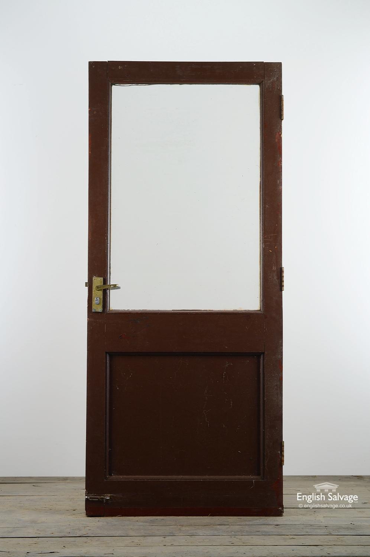 Reclaimed Single Panel Glazed Exterior Door