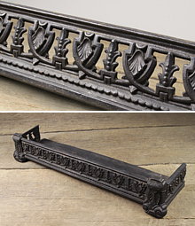 Wondrous Antique Fireplace Fenders Such As Simple Wire Work Fenders Download Free Architecture Designs Scobabritishbridgeorg