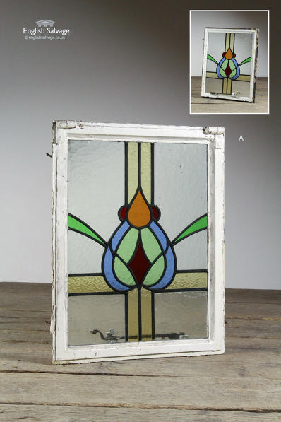 Reclaimed Stained and Leaded Glass Windows