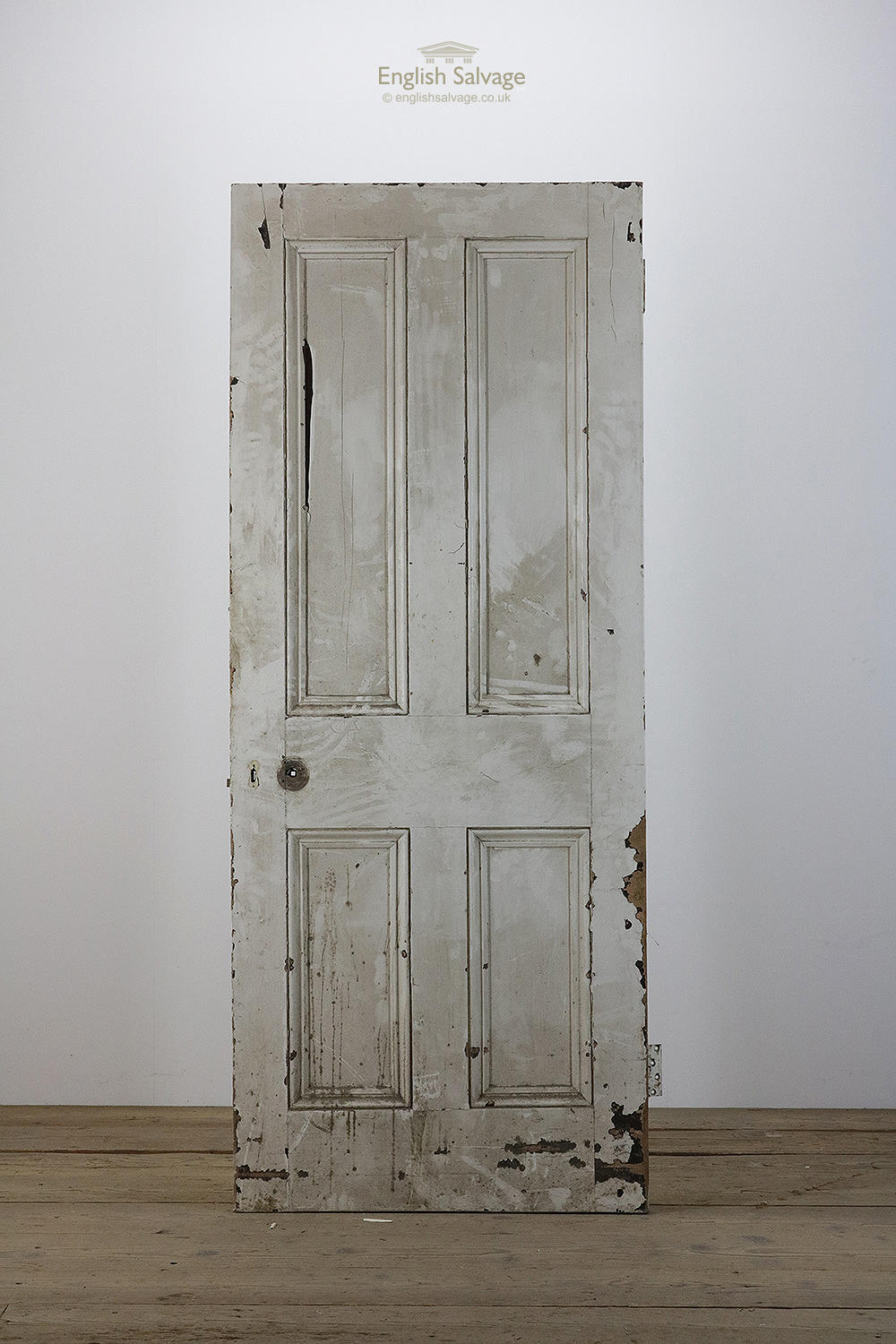Reclaimed Substantial 4 Panel Victorian Door