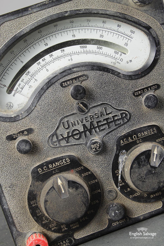 Reclaimed Vintage Universal Avometer