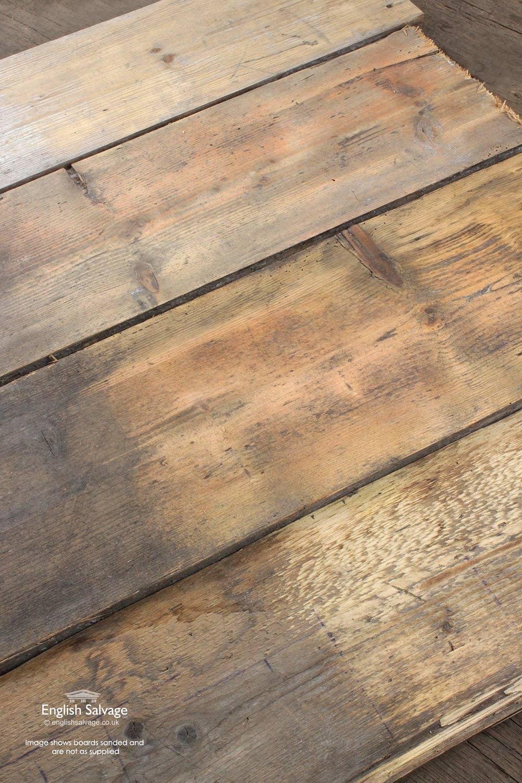 Reclaimed Wide Pine Board Flooring