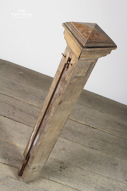 Reclaimed Wooden Stair Newel Post