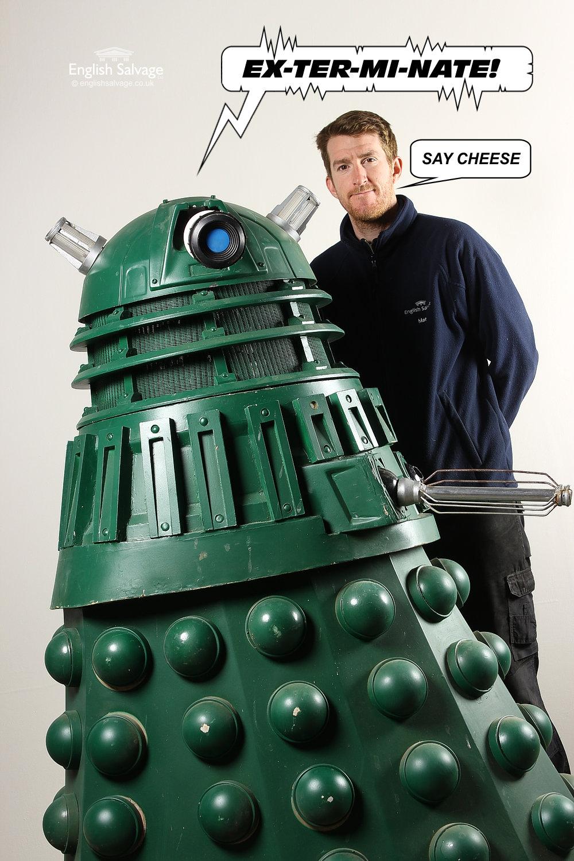 Replica 2005 Green Painted Dalek