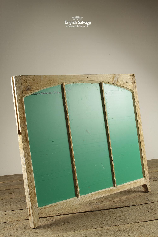 Repurposed Pine Window Frame Mirrors