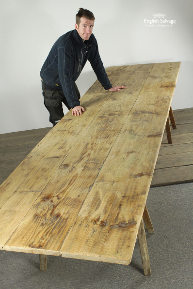 Rustic Wooden Plank Custom Table Tops