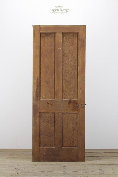 Salvaged Four Panel Victorian Door