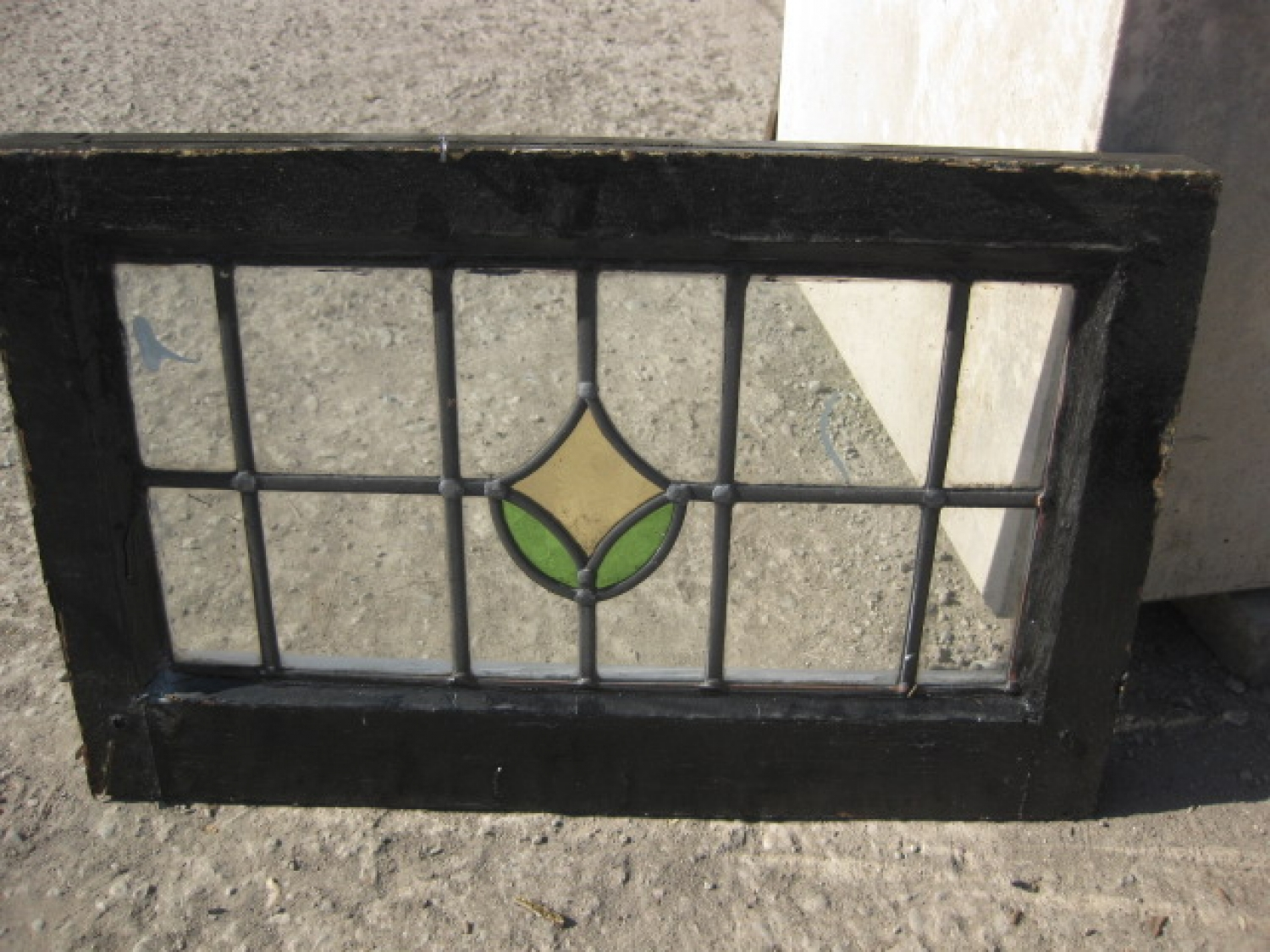 Salvaged Stained Glass Windows