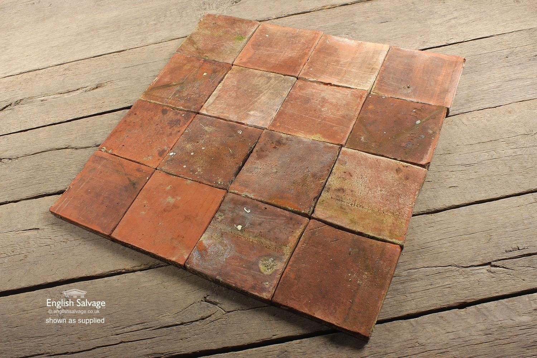 Salvaged Terracotta Quarry Tiles 20cm