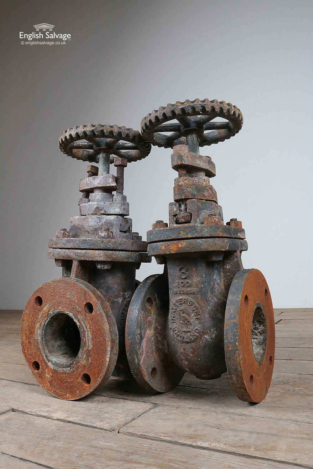 Selection Of Vintage Industrial Gate Valves