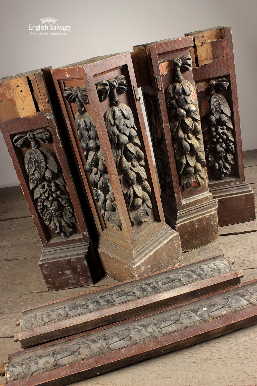 Selection Victorian Short Decorative Columns