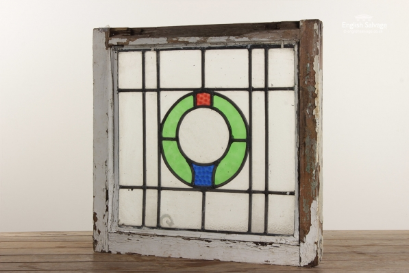 Simple Colourful Leaded Windows