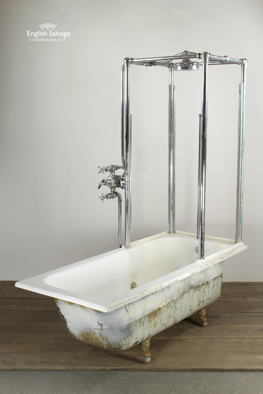 Striking Period Combination Shower Bath